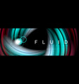 Flowing glowing color motion concept trendy