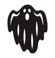 halloween ghost icon simple style vector image vector image