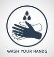 Hand Wash vector image vector image