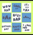 happy father s day lettering calligraphy greeting vector image vector image