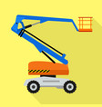 lift air machine icon flat style vector image