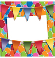 party card vector image vector image