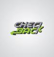 poker theme logo template vector image
