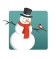 Snowman2 vector image