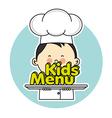 chef children vector image