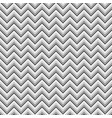 grey zigzag geometric seamless pattern vector image vector image