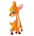 Mouse Deer cartoon vector image