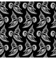 Seagull bird drawing Summer sea seamless pattern vector image vector image