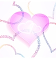 weddign and valentines background with vector image