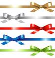 5 ribbons vector image
