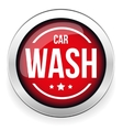 Car wash button icon vector image vector image