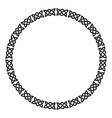 circular celtic ornament vector image vector image