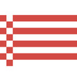 flag bremen vector image vector image