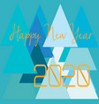 happy-new-year-2020-shape-view vector image vector image