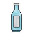 plastic bottle isolated vector image