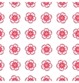 Seamless pattern with sakura flowers in Chinese vector image