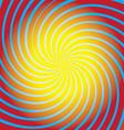 Spiral background vector image vector image