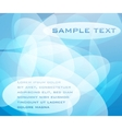 abstract blue design for background vector image vector image