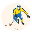 Bandy vector image