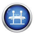 Car lift icon vector image vector image