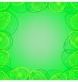 Easter frame 3 vector image vector image
