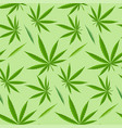 green marijuana background vector image vector image