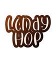 lindy hop vector image