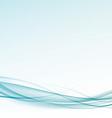 Modern speed swoosh wave hi-tech template vector image vector image