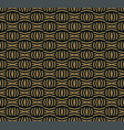 the geometric pattern seamless background vector image vector image