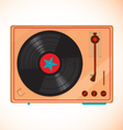 vinyl records player vector image