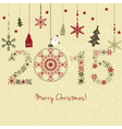 2015 New year Happy holidays background vector image vector image