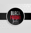 abstract black friday sale background vector image