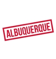Albuquerque rubber stamp