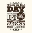 christian biblical typography vector image vector image