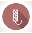 extension cord icon vector image