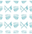 Monochrome blue pattern for paintball vector image