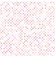seamless pink heart pattern background design vector image vector image
