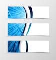 Set of banner spectrum design vector image vector image