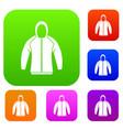 sweatshirt set collection vector image vector image