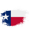 texas grunge damaged scratch vintage and old vector image vector image