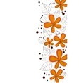 Vector flower design vector image