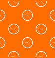 wall clock pattern seamless vector image vector image
