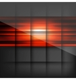 Abstract background with colored lines vector image vector image