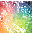 abstract pattern background with waves ornament vector image vector image