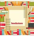 bookstore vector image