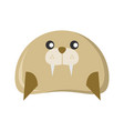 cute seal character animal vector image vector image