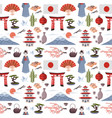 japanese pattern vector image