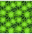 Marijuana background seamless patterns vector image vector image