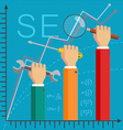 SEO Optimization vector image