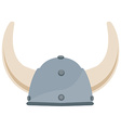 Viking hat vector image vector image